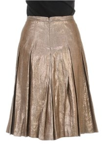 Burberry Skirt Bronze