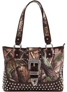 Realtree The Treasured Hippie Army Designer Bags Affordable Large Bags Tote in Brown