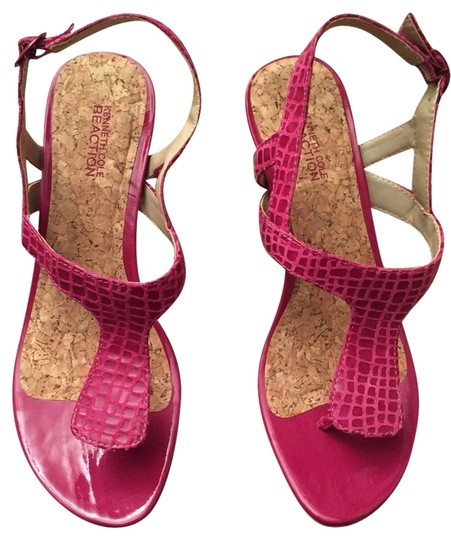 Kenneth Cole Reaction Berry (Pink) Wedges