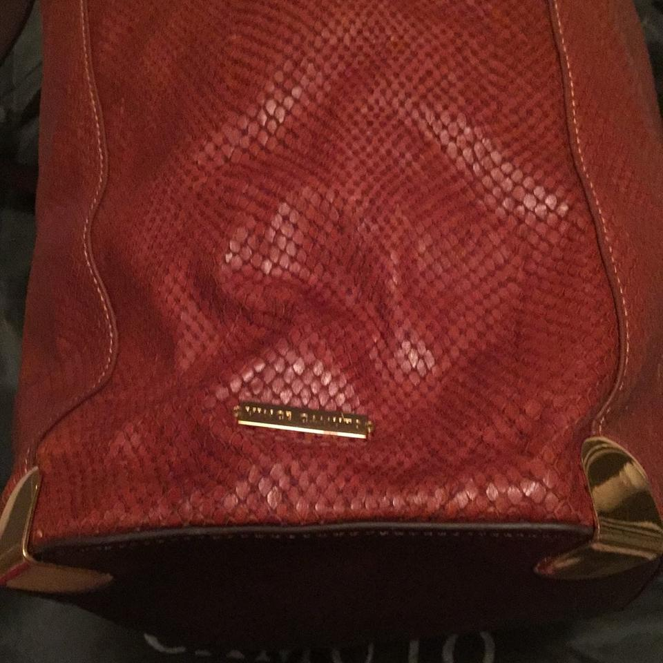 Skin Bag No Odor Stain Hobo Snake Brown Vince No Camuto FqvOw0