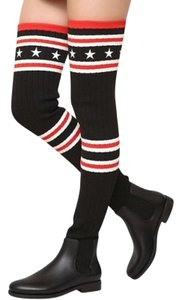 Givenchy Black, white, & red Boots