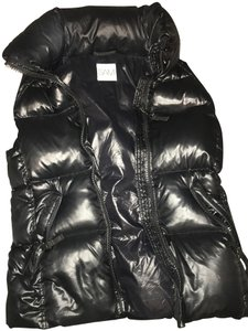 SAM. Shiny Down Winter Goose Feathers Vest
