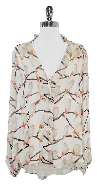 Preload https://item2.tradesy.com/images/erin-fetherston-dylan-printed-silk-chiffon-blouse-size-12-l-2241736-0-0.jpg?width=400&height=650