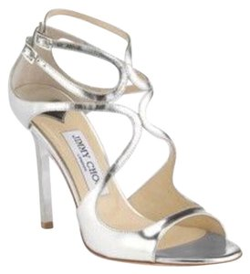 Jimmy Choo Lang Sandals Silver Formal