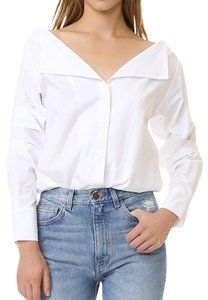 MLM Spring Fall Winter Casual Top WHITE
