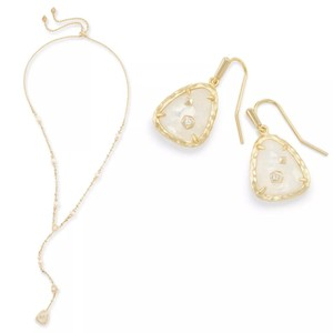 Kendra Scott LUCIELLE NECKLACE & ASHER EARRINGS