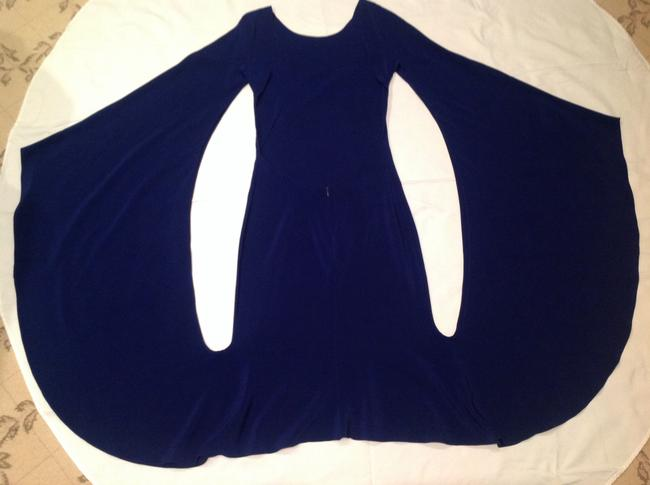 Item - Royal Blue Runway Spring/Summer Rtw 2013 Knee Length Night Out Dress Size 2 (XS)