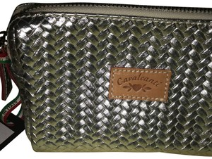 Cavalcanti Silver Metallic Leather
