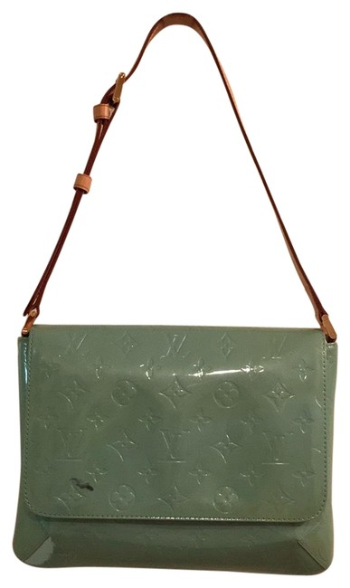 Item - Shoulder Thompson Street Green But It Used To Be Blue Vernis Hobo Bag
