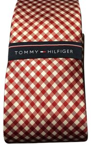 Tommy Hilfiger TOMMY HILFIGER Micro Gingham Picnic Design Tie