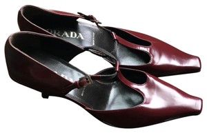 Prada Burgandy Pumps