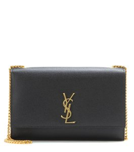 Saint Laurent Monogram Calfskin Classic Leather Shoulder Bag