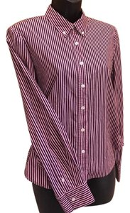 Marc Jacobs Button Down Shirt pink and black