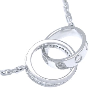 Cartier Cartier Love Necklace White Gold with Diamonds