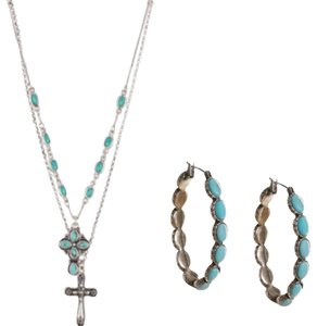 Lucky Brand TURQUOISE JEWELRY SET