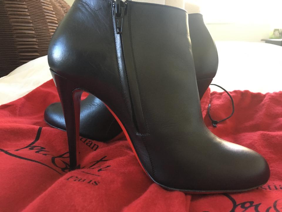 best service 70282 135f1 Christian Louboutin Black Belle Round Toe 38/8 Boots/Booties Size US 8  Regular (M, B) 33% off retail