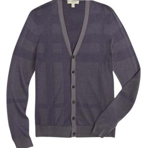Burberry Pewter Blue/Gray Blazer