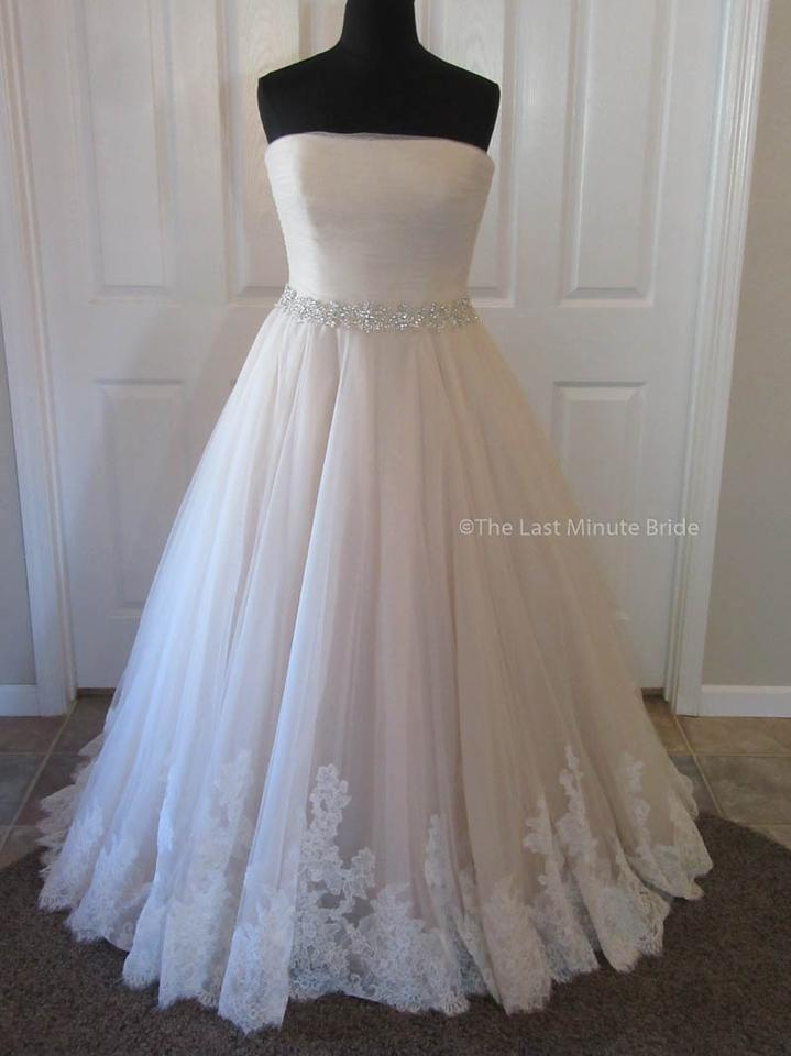 Allure Bridals Champagneivorysilver Lace 9168 Feminine Wedding