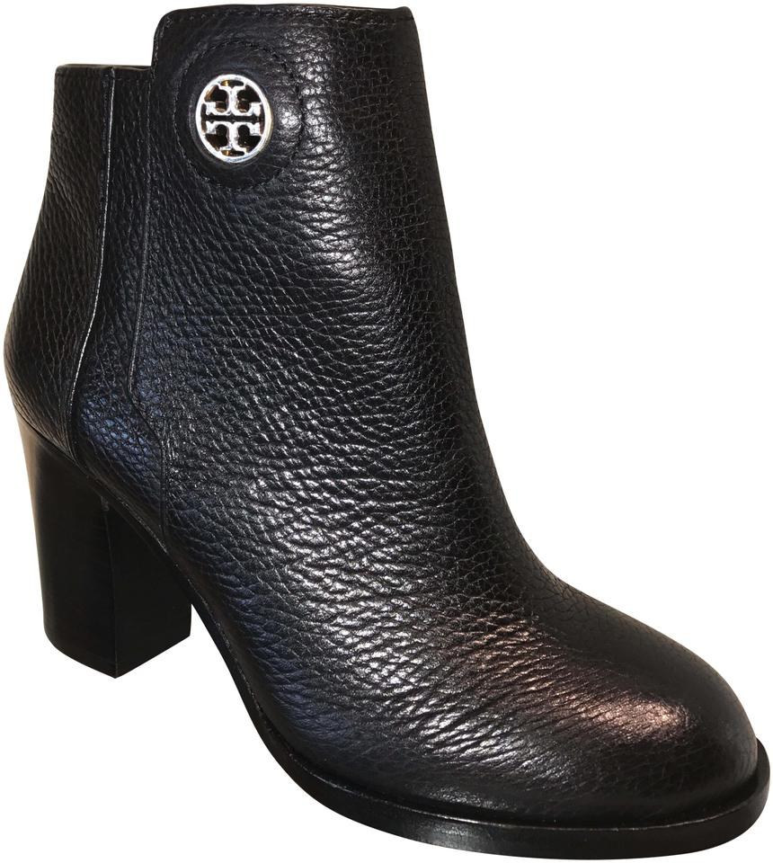 69f7721beadf Tory Burch Balck Junction 85mm Leather Boots Booties Size US 8 ...