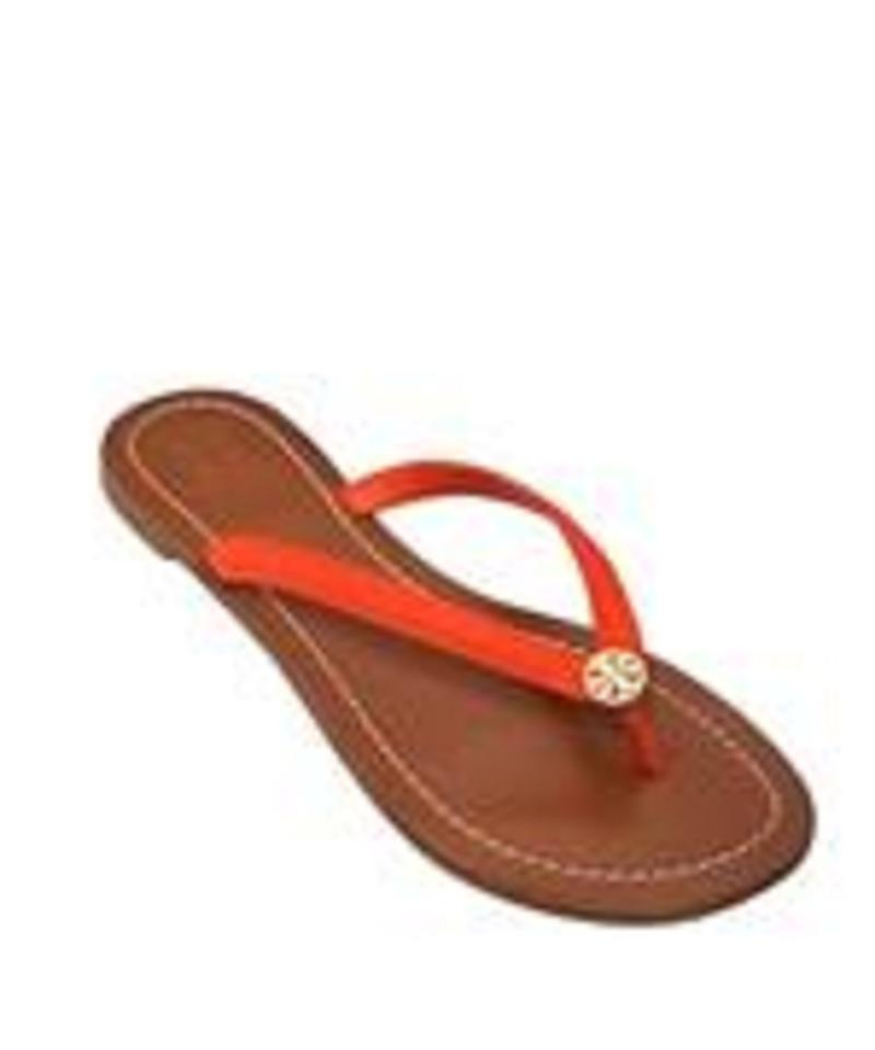 caad0883fc9 Tory Burch Red New In Box Terra Thong Radiant Apple Sandals. Size  US 9  Regular (M ...