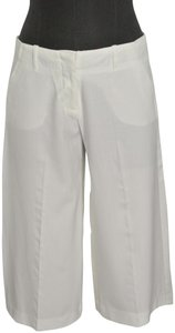 The Limited Wide Leg Designer Capris White