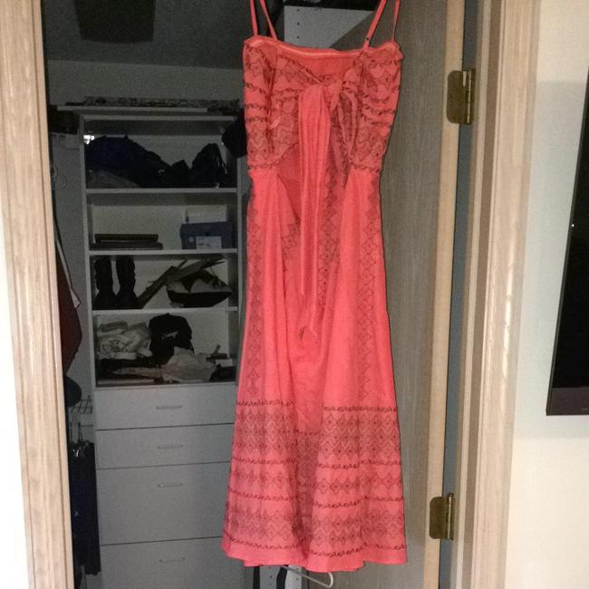 BCBGMAXAZRIA short dress Salmon Pink on Tradesy