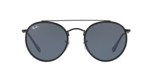 Ray-Ban New Limited Edition Black Rounded Ray Ban Sunglasses RB 3647N 002/R5
