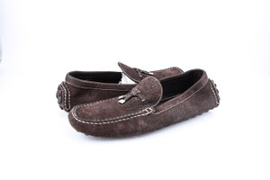 Louis Vuitton * Brown Leather Loafers Shoes