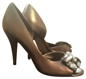 Nine West Silver/Gold Pumps