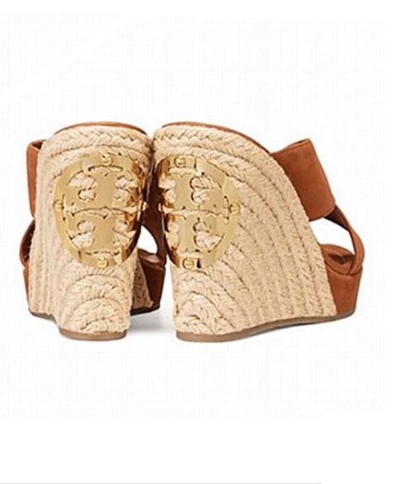 729bbf7a27e Tory Burch Espadrille Bailey Espadrille Cuoio Wedges Image 10. 1234567891011