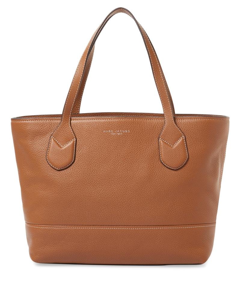 Shoulder Marc Shopper Classic Tote Leather Saddle Jacobs R0wt0rxq1