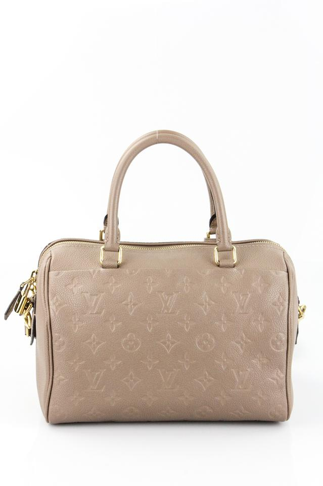 084bd160082e Louis Vuitton Speedy Bandouliere 25 Taupe Glace Leather Shoulder Bag ...