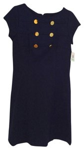 Ellen Tracy short dress Navy Blue on Tradesy