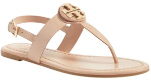 Tory Burch Logo Bryce Thong Makeup Color Sandals