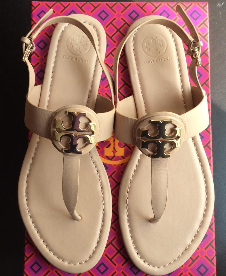 3a53de698fc2 Tory Burch Makeup Color Bryce Logo New In Box Sandals Size US 9 ...