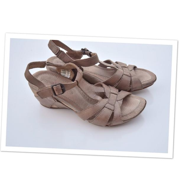 Item - Gray Walk Your Way Out Wedges Size US 6.5 Regular (M, B)