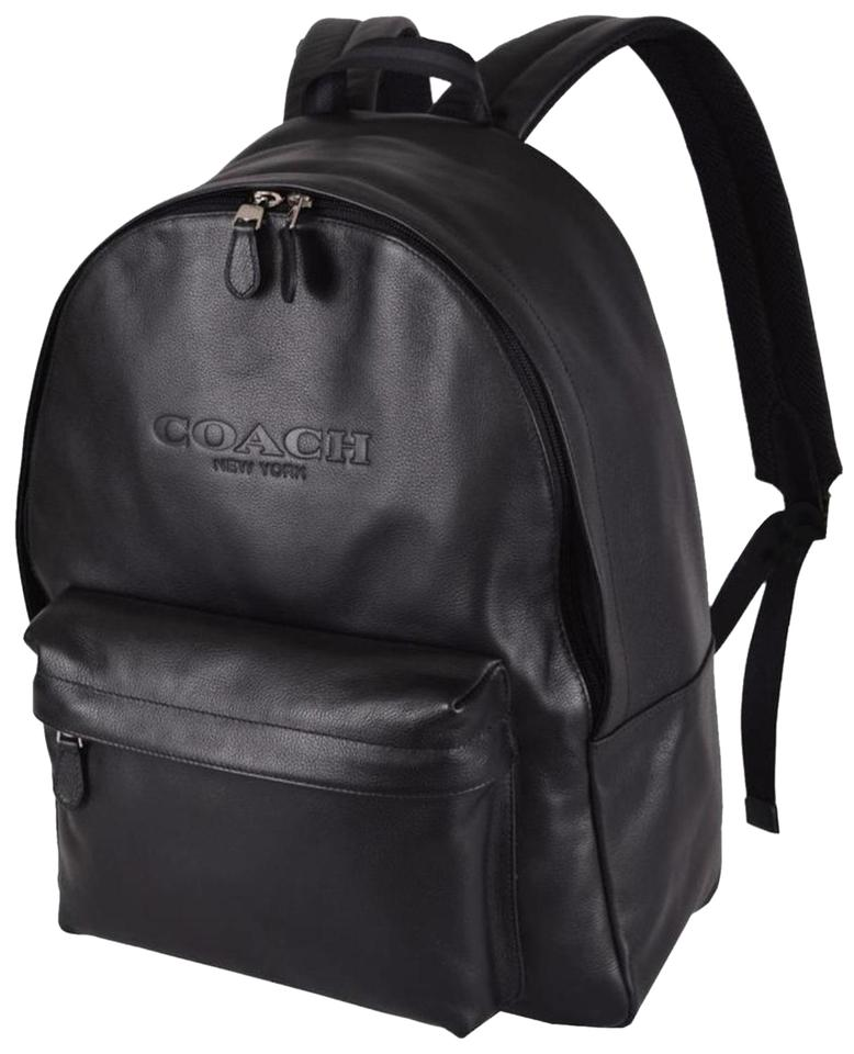 Coach Black Leather Backpack - Tradesy
