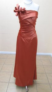 Impression Bridal Burnt Orange 20013 Dress