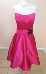 Impression Bridal Fuchsia/Black 20066 Dress