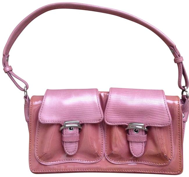 Item - Small Dusty Pink Patent Leather Satchel