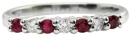 Preload https://img-static.tradesy.com/item/22423466/14k-white-gold-50ctw-natural-red-ruby-and-diamond-in-solid-women-ring-0-1-540-540.jpg