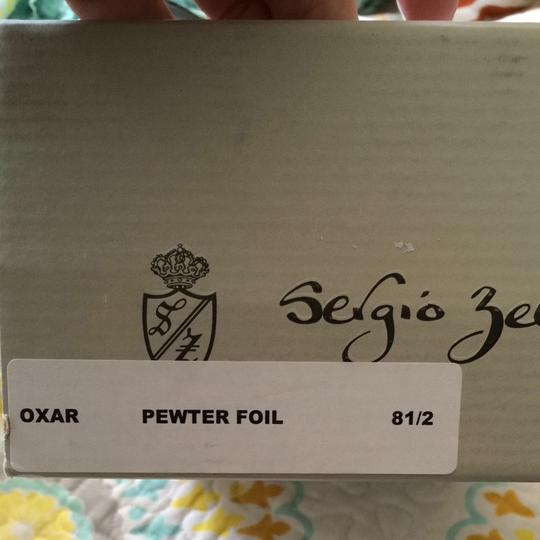 Sergio Zelcer Pewter/ Silver/ Gray Pumps