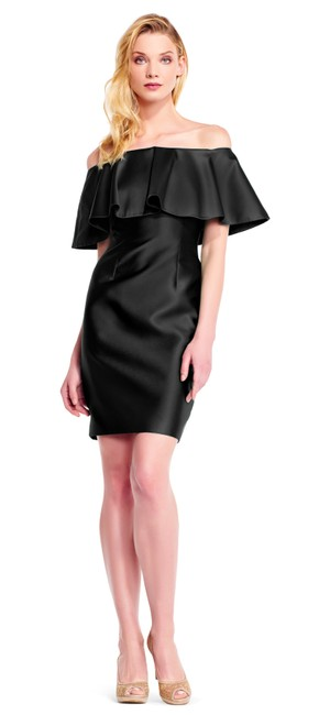 Adrianna Papell Off The Shoulder Dress Image 1