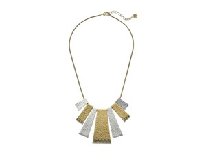 House of Harlow 1960 House of Harlow 1960 Golden Scutum Statement Necklace