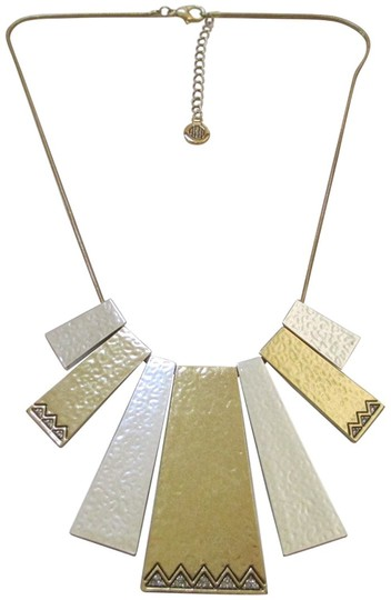 House of Harlow 1960 House of Harlow 1960 Golden Scutum Statement Necklace Image 1