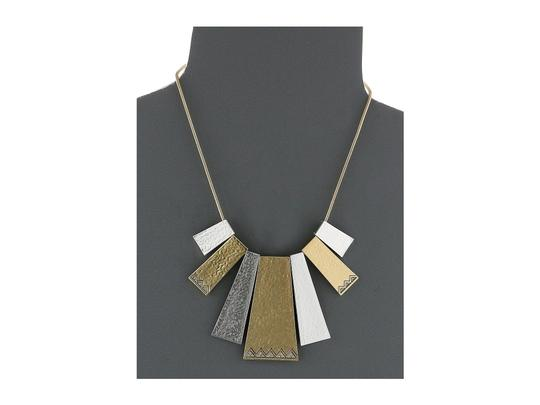 House of Harlow 1960 House of Harlow 1960 Golden Scutum Statement Necklace Image 2