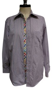 Robert Graham Shirt Button Down Shirt blue