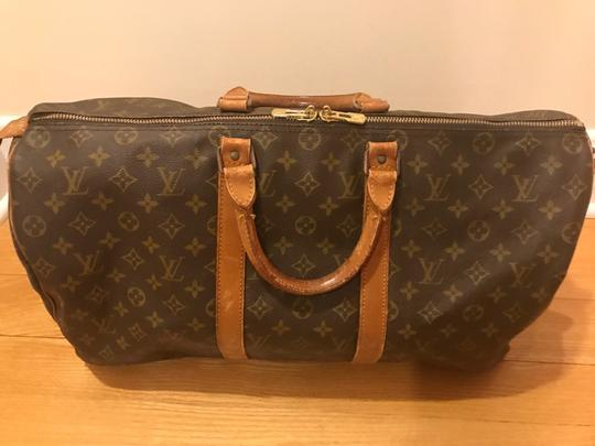 Louis Vuitton Keepall 50 Monogram Canvas Weekend Travel Bag - Tradesy b462be4461a73