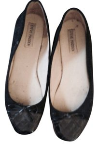 Steve Madden Ballet Casual Comfortable Designer Ballet Casual Rubber Sole Rubber Sole Casual Black suede Flats