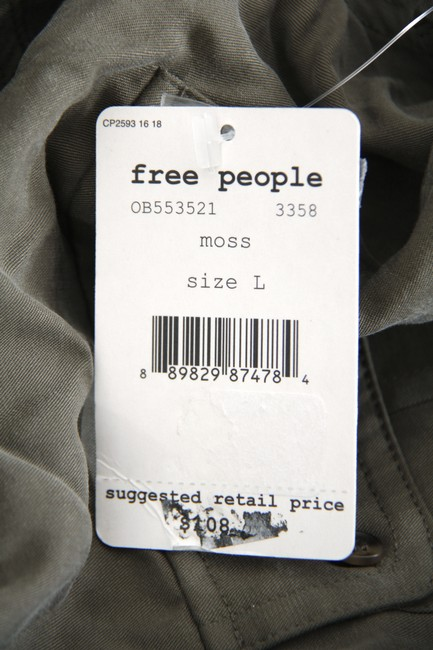 Free People Button Down Shirt Moss Image 5